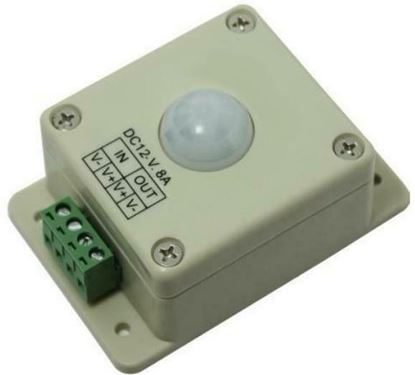 Picture of 12V DC Infrared Motion Sensor Occupancy Switch - 84W