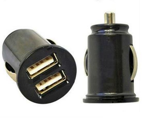 Picture of USB Dual Car Charger Adapter 12V DC