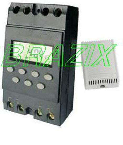 Picture of COMBO Programmable 12V DC Timer Switch 25A + DC Wireless Remote Switch 20A